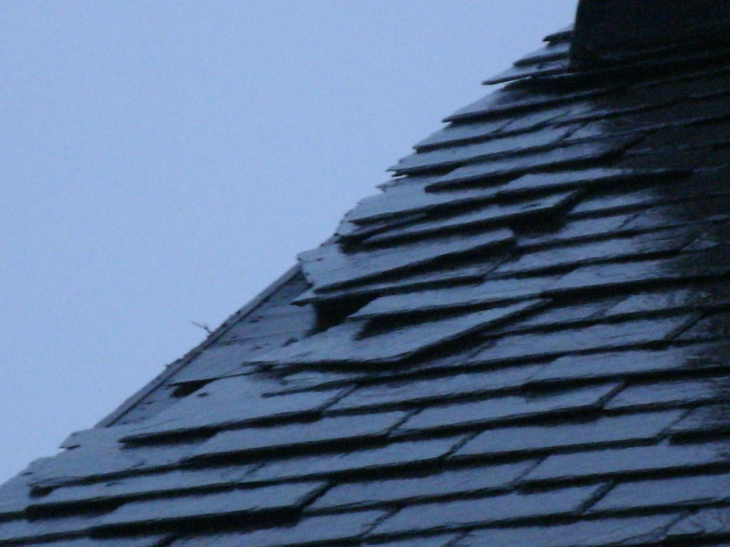 Loose Shingle Repair